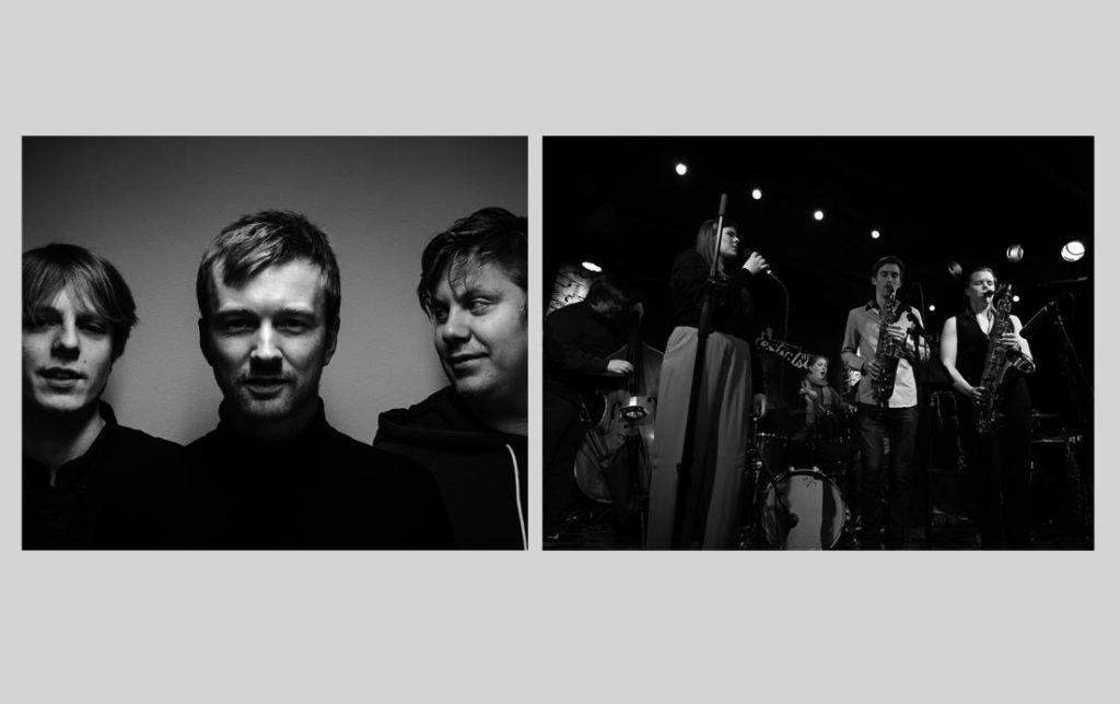 Damata (foto: Henning Huseby) og Lady Bird Orchestra (pressefoto)