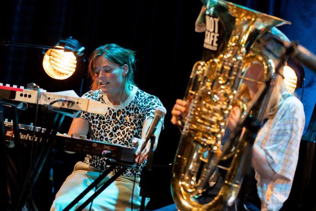 Anja Lauvdal og Heida Johannesdottir. Foto: Matija Puzar/Oslo Jazzfestival