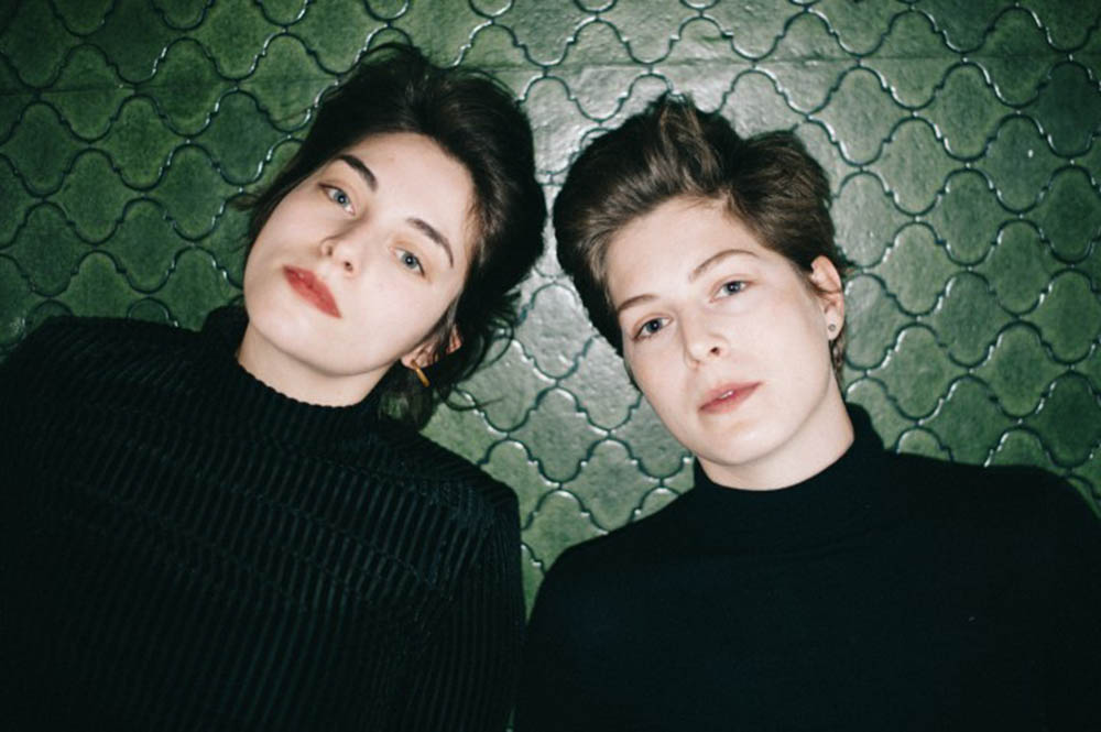 Natali Garner og Ina Sagstuen utgjør duoen Propan. Foto: SofaMusic.no