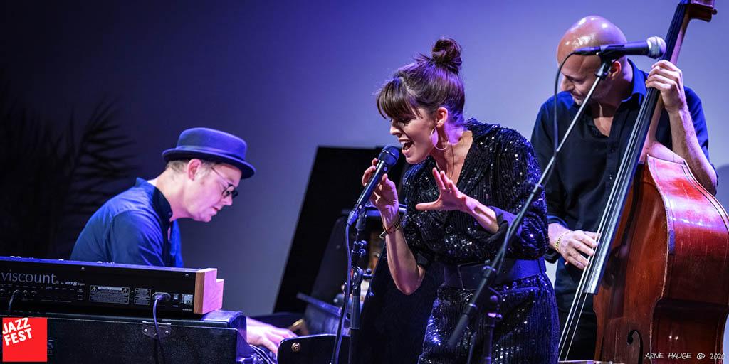 Julie Dahle Ågård . Foto: Arne Hauge/Jazzfest