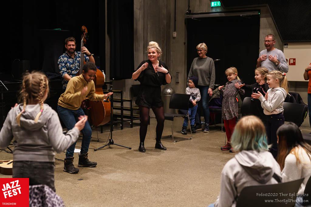 Juniorjazz med Elisabeth & Rus. Foto: Thor Egil Leirtrø/Jazzfest