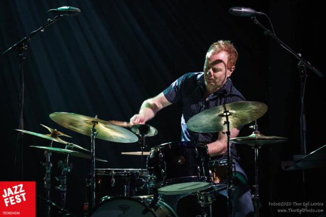 Håkon Mjåseth Johansen, Arild Andersen Trio. Foto: Thor Egil Leirtrø/Jazzfest