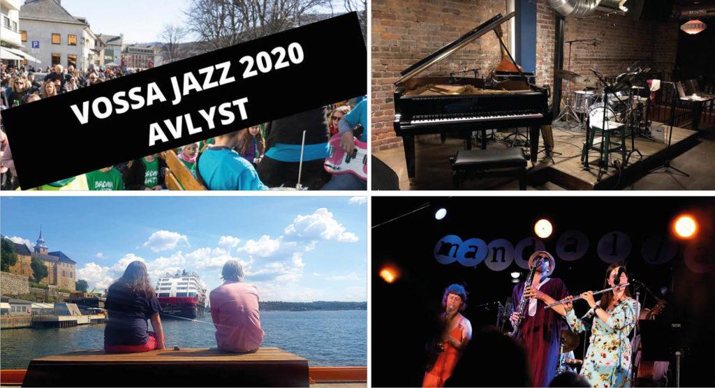 Vossa Jazz, Atomic-scene (foto: Tord Krogtoft), Bloggerdate (foto: Camilla Slaattun), Andreas Røysum Ensemble (foto: Jens Westbye/Mandaljazz)