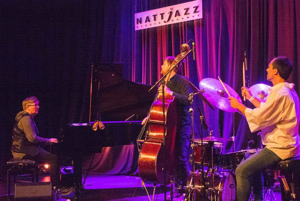 Maria Kannegaard Trio, her fra Nattjazz i 2019. Foto: Terje Mosnes