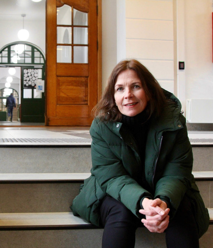 Trude Storheim, dagleg leiar, Vossa Jazz. Foto: Lina-Maria Rolland /avisa Hordaland