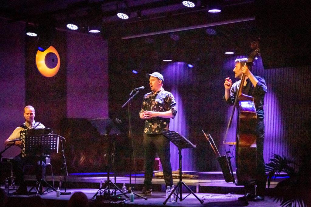 Håkon Kornstad Trio.Foto: Ine A. Bodin og Orinta Strakockyte