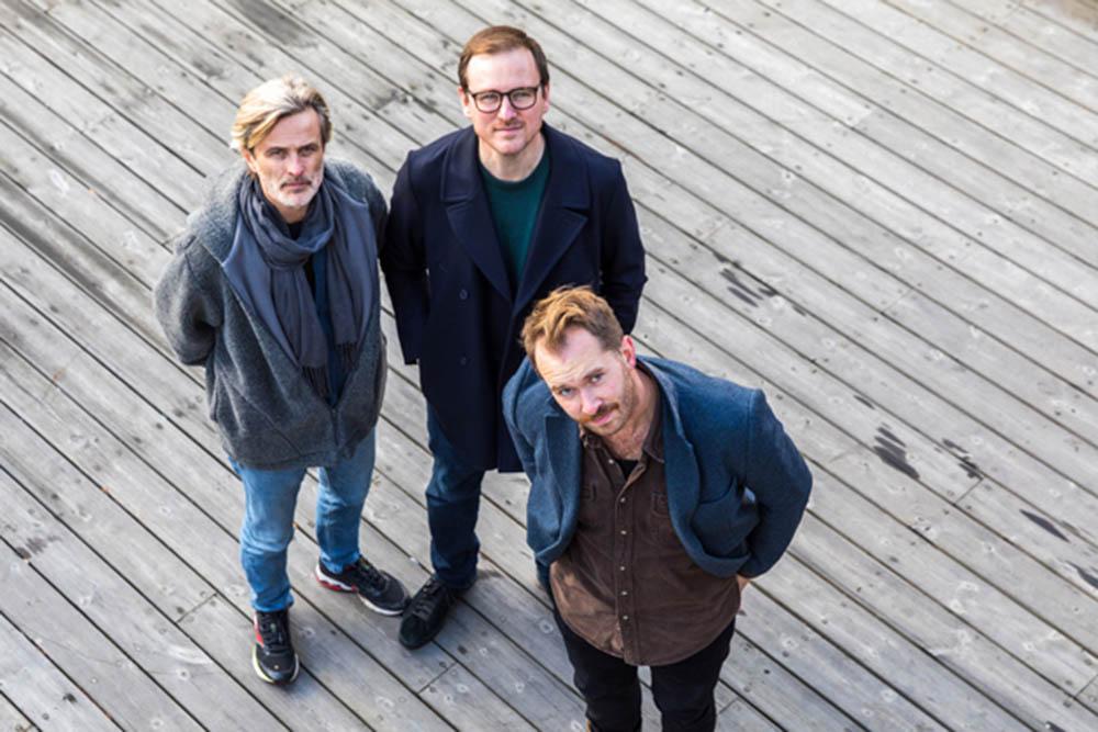 Audun Kleive, Per Zanussi og Eyolf Dale åpner sommerkonsertrekka på Nasjonal jazzscene. Foto: Tore Sætre