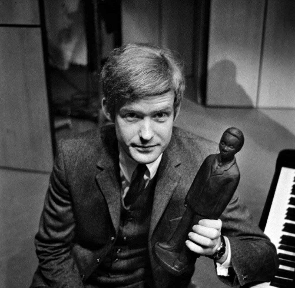 Jon Christensen fikk Buddyprisen på Moldejazz i 1967. Foto: Roger Engvik