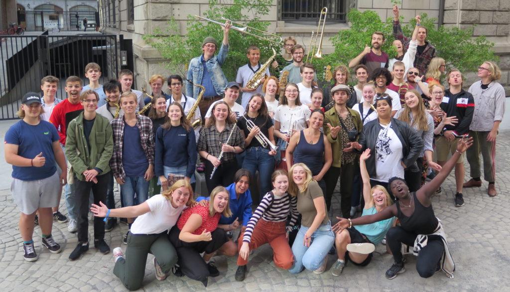 Ungjazzsamling 2019 i regi av Østnorsk jazzsenter