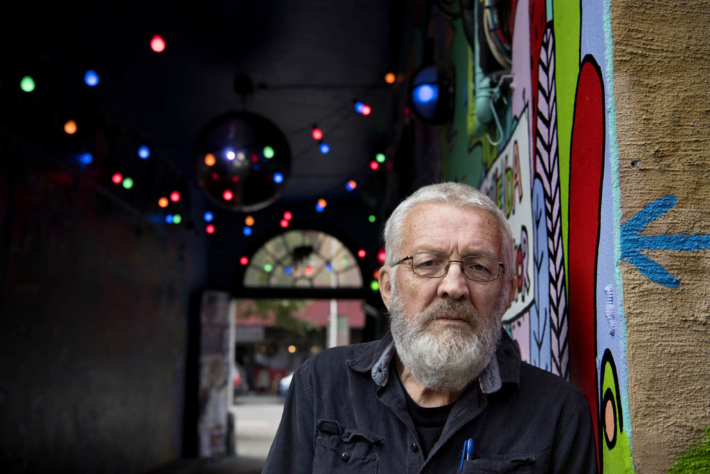 Roald Helgheim da han fylte 75 år i 2017. Foto: © Mimsy Møller / Samfoto