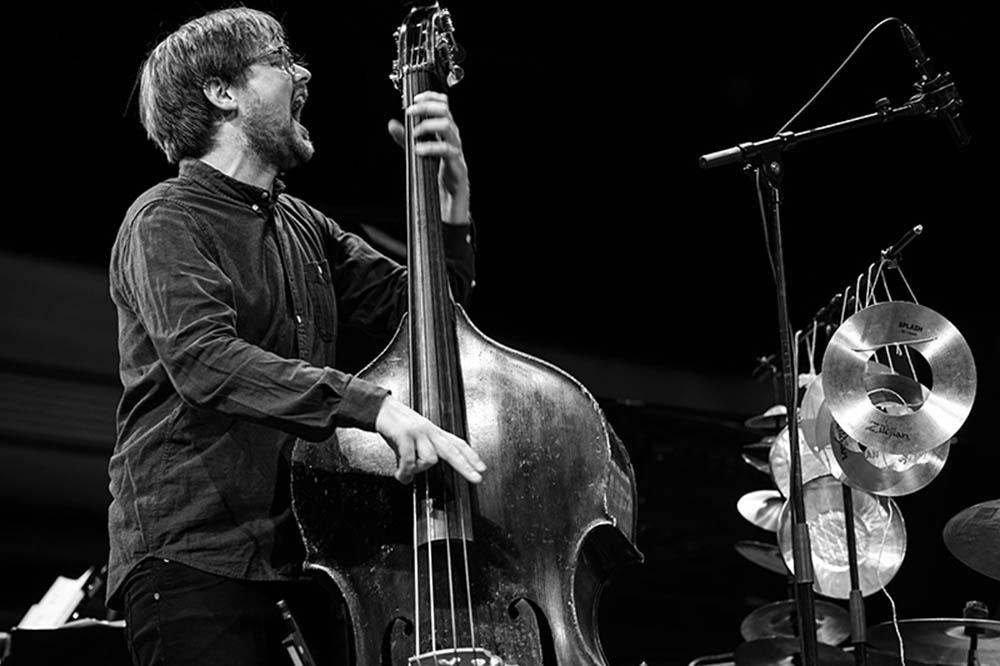 Ole Morten Vågan er residerende kapellmester på Kampenjazz denne høsten. Her avbildet under Reykjavik Jazz Festival med Trondheim Jazzorkester i 2017. Foto: Hreinn Gudlaugsson/wikimedia commons