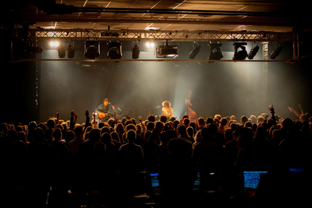 Valkyrien Allstars avslutter lørdagskvelden på Vossa Jazz. Foto: Runhild Heggem/Vossa Jazz