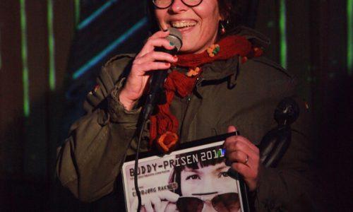 Buddy-prisen til Eldbjørg Raknes