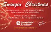 Swingin' Christmas med Sandefjord storband og Hans Mathisen
