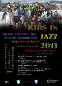 Kids in Jazz-festival i helgen!