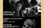 Romjulsjazz – konsert/jam/nattklubb