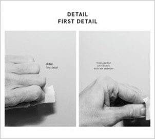 «First Detail» cover