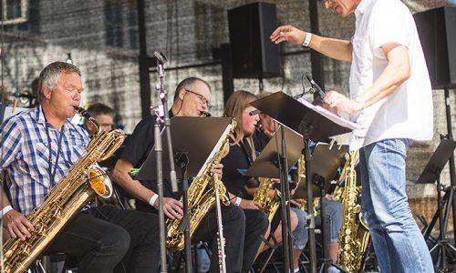 Kongsberg Storband jubilerer under jazzfestivalen