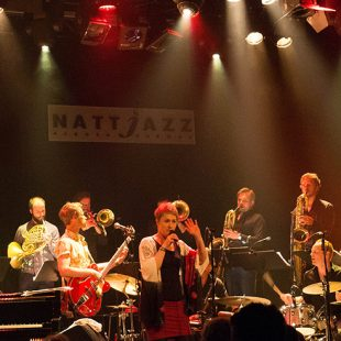 Nattjazz, 26. mai 2016: Come Shine med Trondheim Jazzorkester, Voice, Strings & Timpani, Bjørn Alterhaug Quintet, Spirit in the Dark, Sex Mob. cover