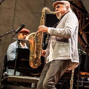 Charles Lloyd New Quartet - Oslo Jazzfestival, Universitetets Aula, 17. august 2016 cover