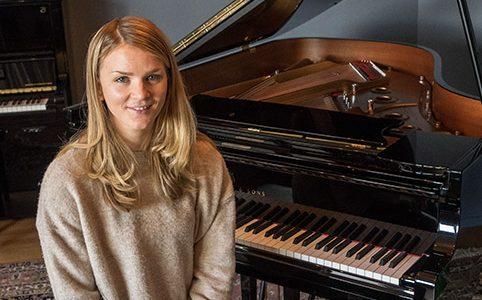 Albumklar pianist, komponist og gründer