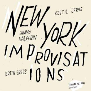 """New York Improvisations"" cover"