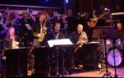 Tyske stjerne saksofonist Klaus Graf med Føyka Storband