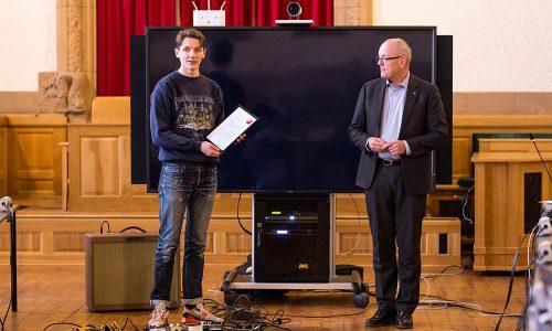 Trondheim Jazzfestivals talentpris til Lars Ove Fossheim