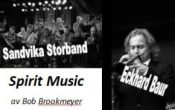 Spirit Music – Sandvika storband & Eckhard Baur med Bob Brookmeyers musikk