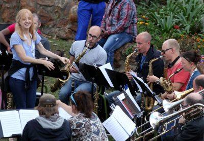 Ensemble Denada med Maria Schneider til North Sea Festival og Moldejazz