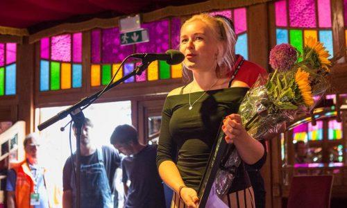 Siril Malmedal Hauge mottok Jazztalent-prisen