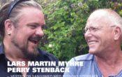 Lars Martin Myhre med Perry Stenbäck