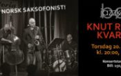 Bø Jazzklubb presenterer: KNUT RIISNÆS KVARTETT