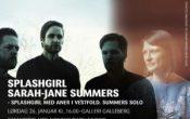 Splashgirl / Sarah-Jane Summers solo  – Splashgirl med aner i Vestfold