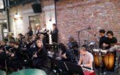 Øvre Foss storband + AOJO Akershus og Oslo ungdomsstorband med Shannon Mowday