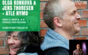 Tynset Jazzfestival: Olga Konkova og Jens Thoresen + Atle Nymo