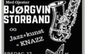 Meland Jazzkafe med Bjørgvin Storband og KNAZ