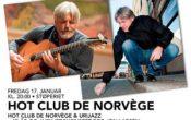 Hot Club de Norvège & Urijazz – 40 år og avskjedskonsert for Jon Larsen