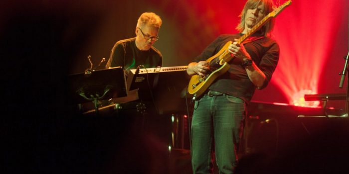 Mike Stern & Jan Gunnar Hoff Group til Anjazz