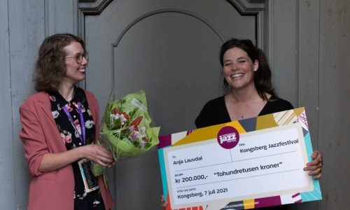 Anja Lauvdal tildelt Kongsbergjazz' musikerpris