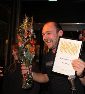 Tore Bråthen ble tildelt Storbandprisen 2016. (foto: Tim Challman)